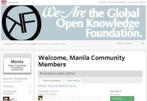 Meet up OKFN-PH Manila
